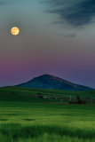 Super Moon Over The Palouse